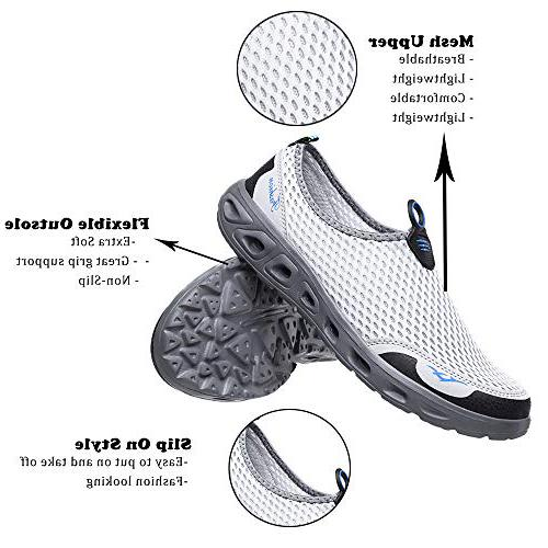 GOOD STUDIOS Men Women Quick Dry Water Shoes Slip-on Aqua Sport Walking  Shoes for sand running