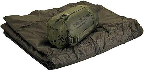 Snugpak Jungle Survival Blanket - Insulated, Lightweight, Water Repellent Polyester Camping blanket