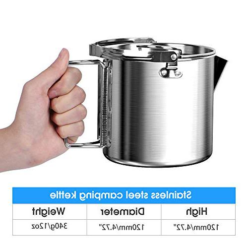 Chihee Stainless Steel Camping tea kettle