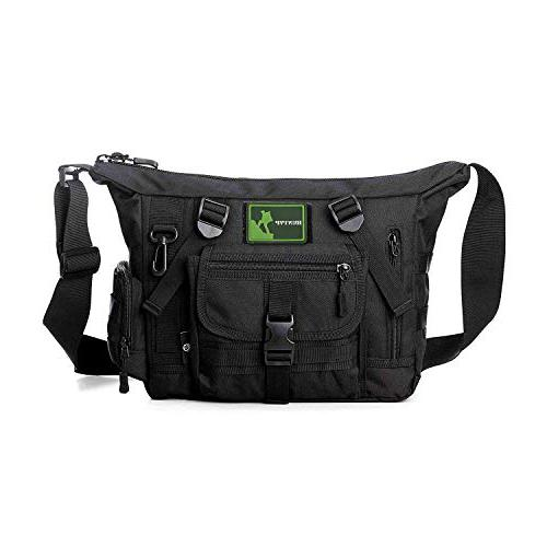 Huntvp Tactical Messenger Bag Shoulder Bag Cross Body Bag Belt Sling Bags Laptop For Working Cycling Hunting Camping Trekking Bike messenger bag