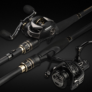 KastKing BlackHawk II Telescopic Fishing Rods