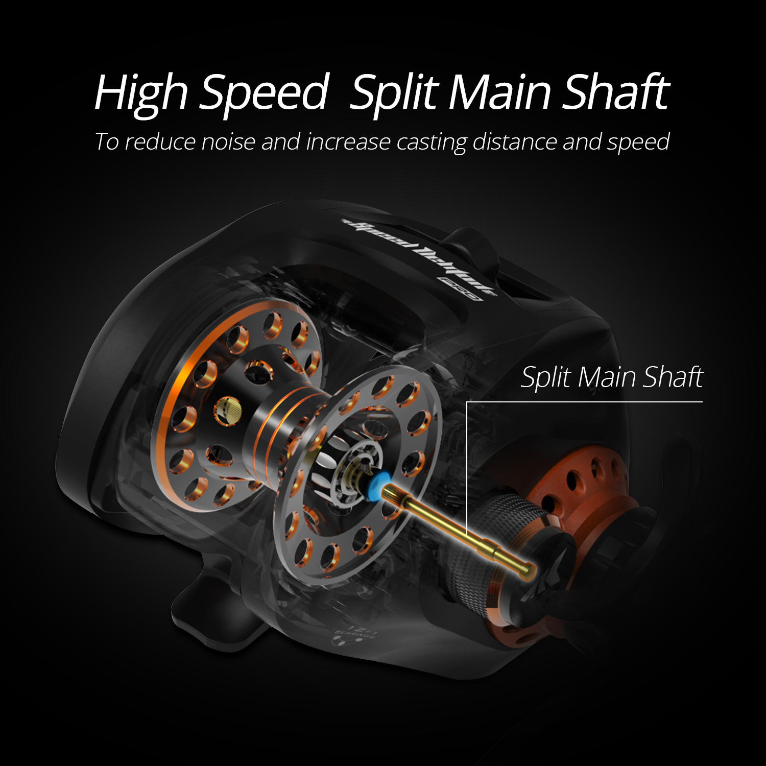 KastKing NEW Speed Demon Pro Baitcasting Reel