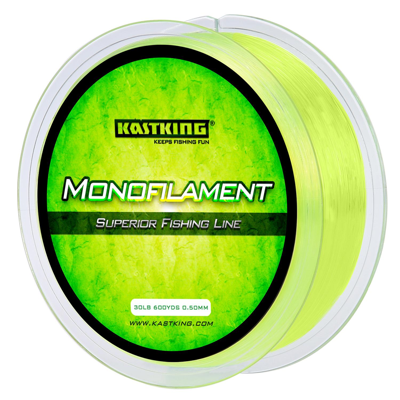 KastKing Yellow Premium Monofilament Fishing Line